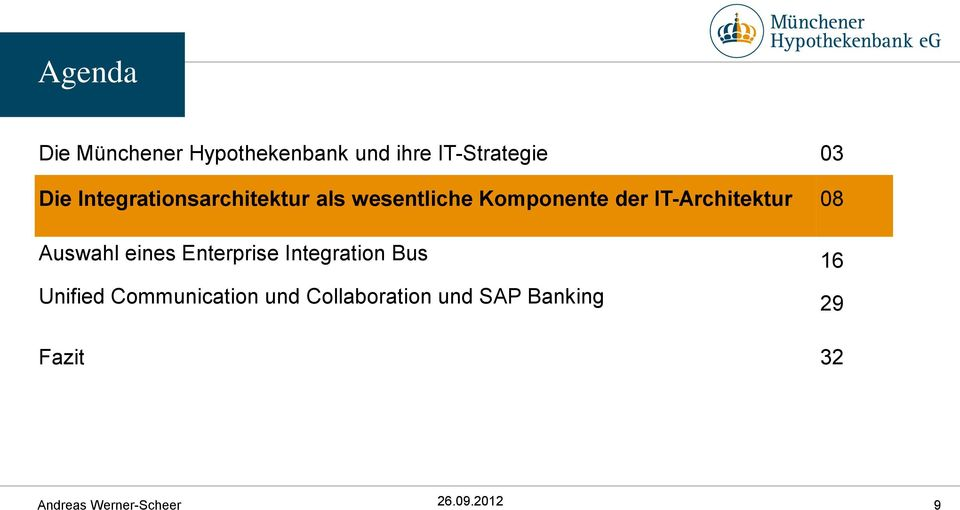 IT-Architektur 08 Auswahl eines Enterprise Integration Bus 16