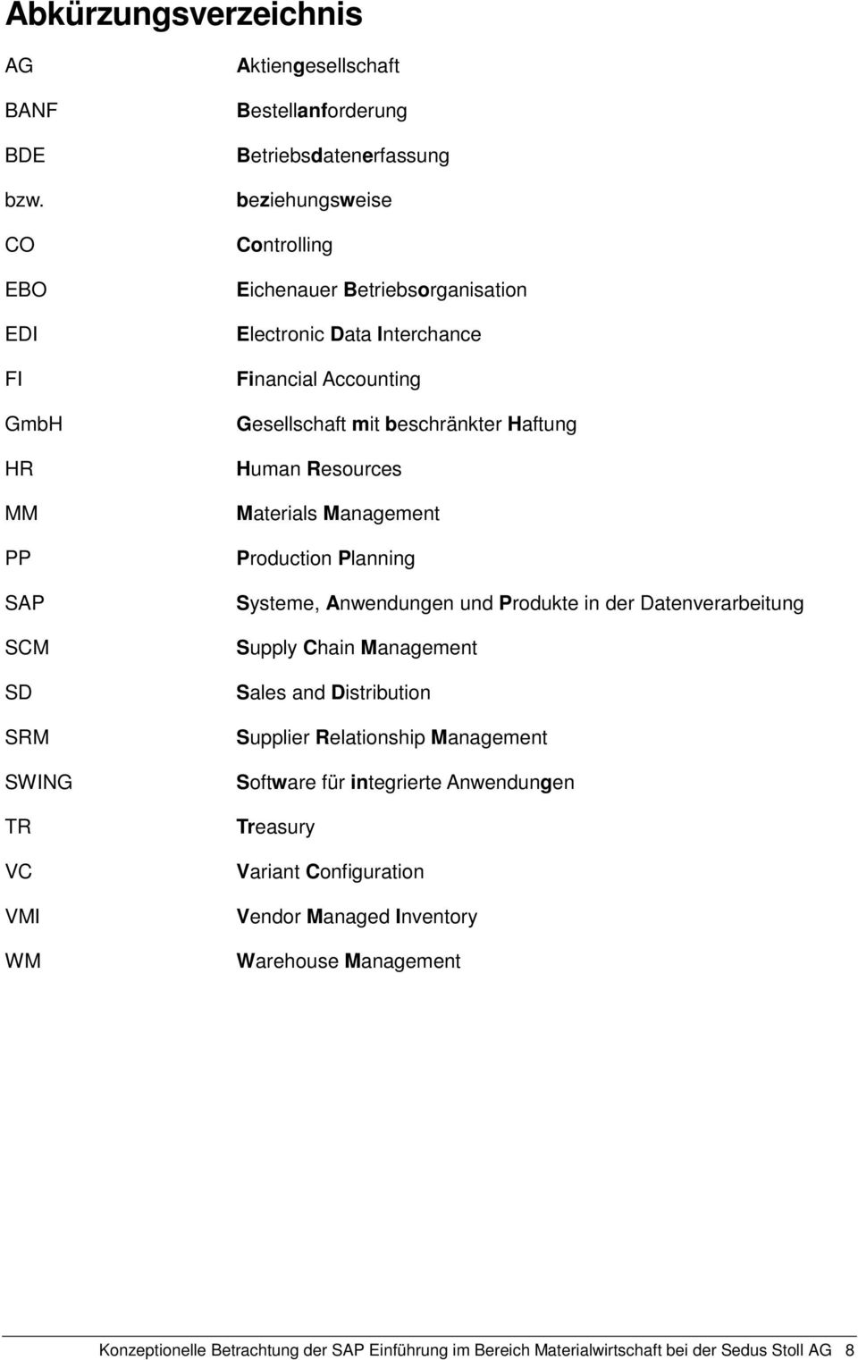 Betriebsorganisation Electronic Data Interchance Financial Accounting Gesellschaft mit beschränkter Haftung Human Resources Materials Management Production Planning Systeme,