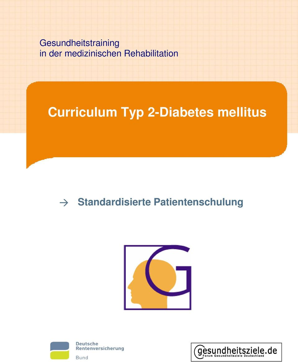 Curriculum Typ 2-Diabetes