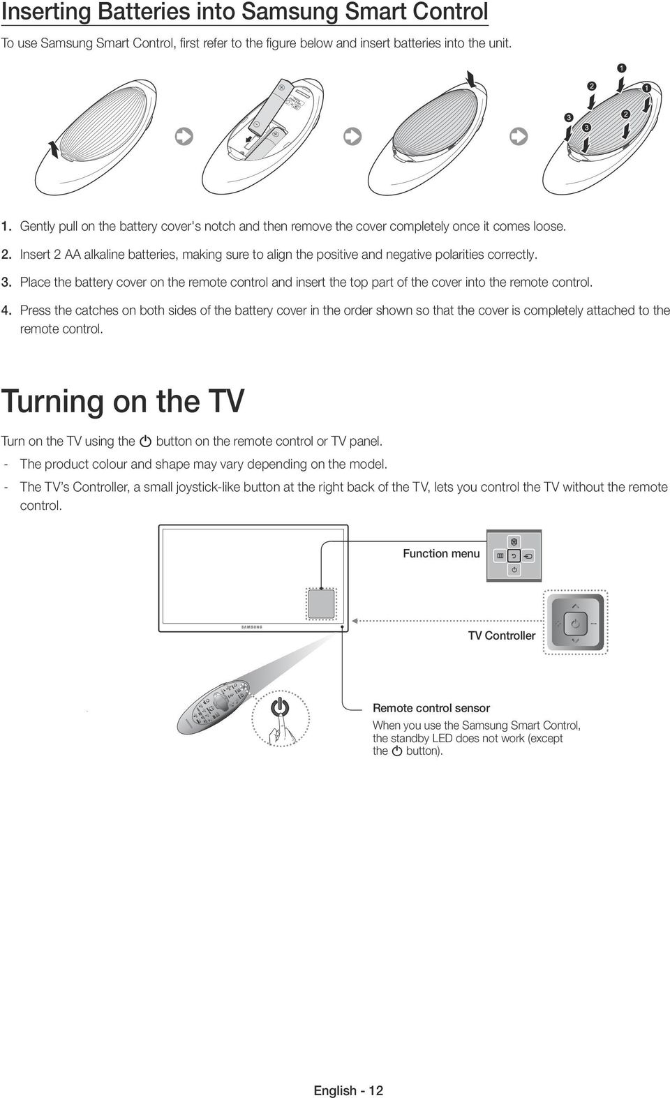 samsung smart tv instructions manual