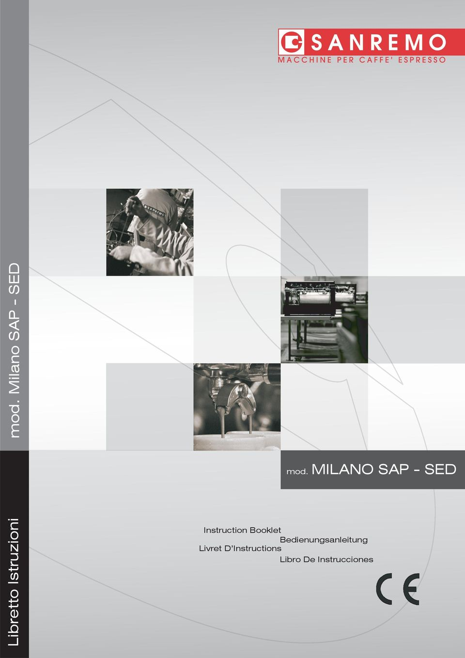 MILANO SAP - SED Instruction Booklet
