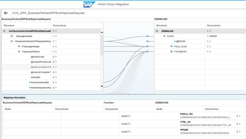 Integration mit SAP ERP / IS-U
