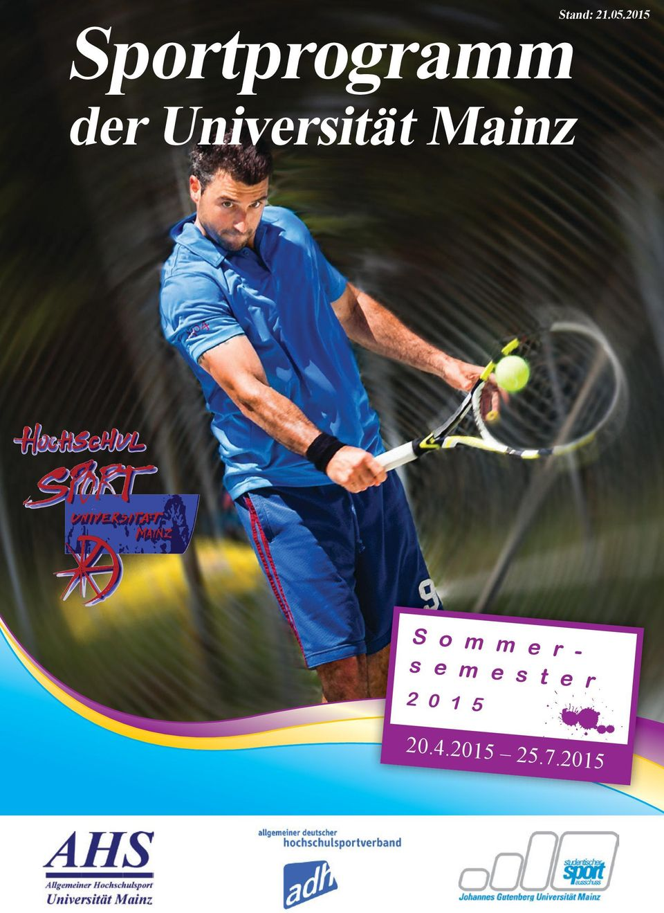 Universität Mainz S o m m e