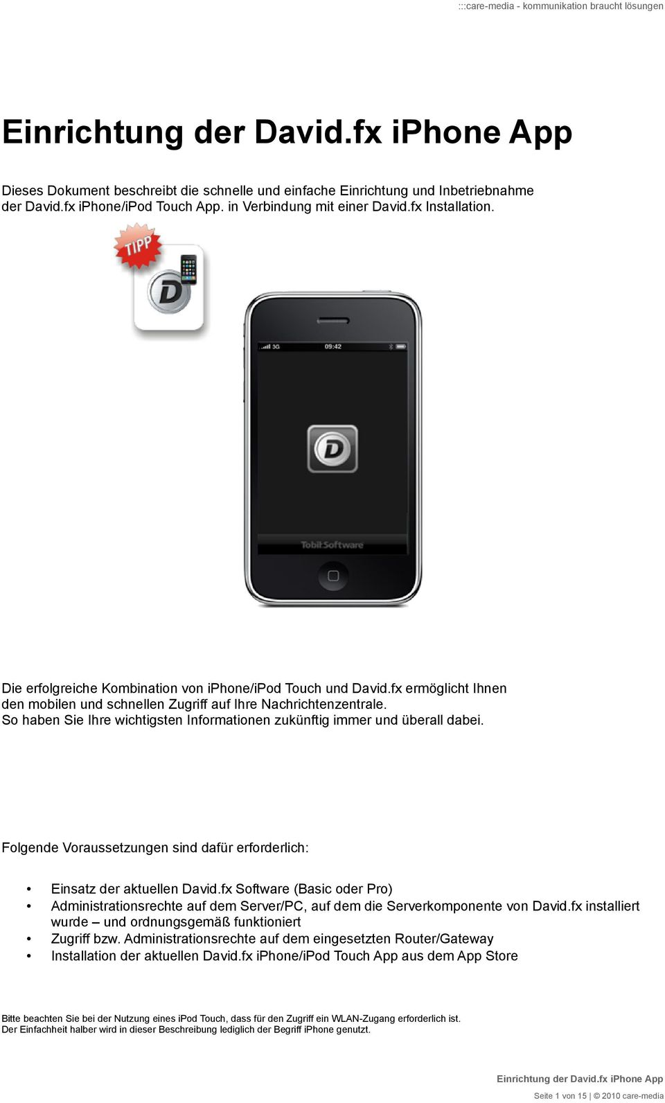 einrichtung der iphone app pdf. Black Bedroom Furniture Sets. Home Design Ideas