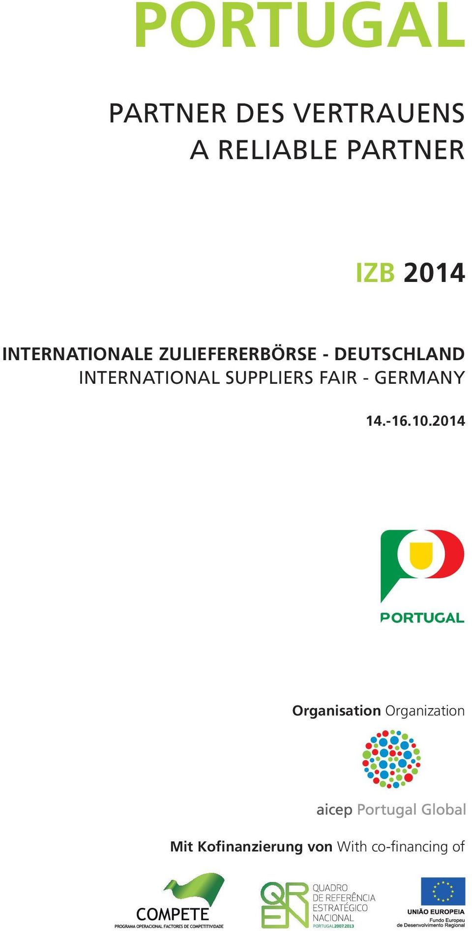 INTERNATIONAL SUPPLIERS FAIR - GERMANY 14.-16.10.