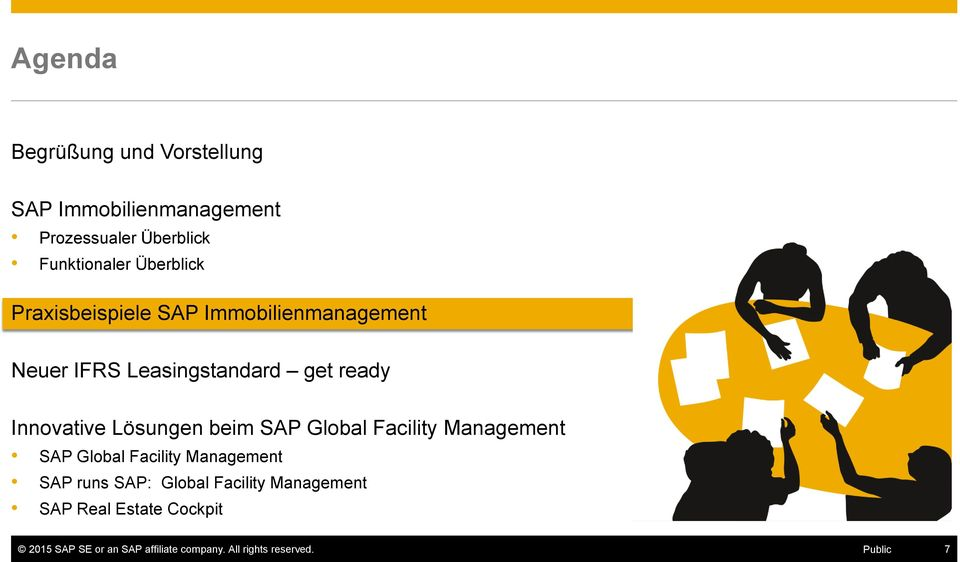 Lösungen beim SAP Global Facility Management SAP Global Facility Management SAP runs SAP: Global