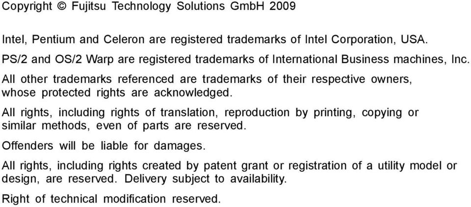 All other trademarks referenced are trademarks of their respective owners, whose protected rights are acknowledged.