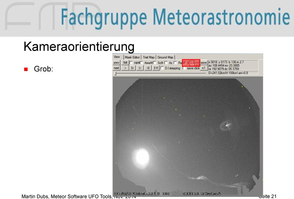 Meteor Software UFO