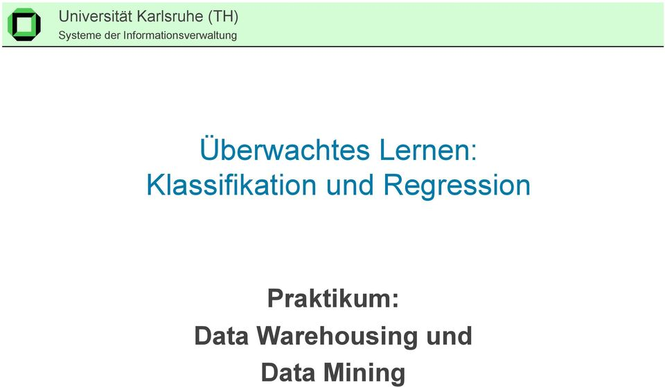 Regression Praktikum: