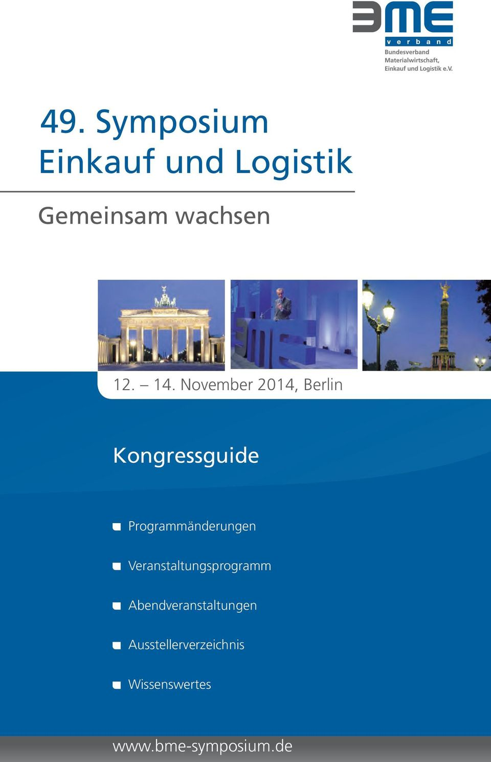 November 2014, Berlin Kongressguide