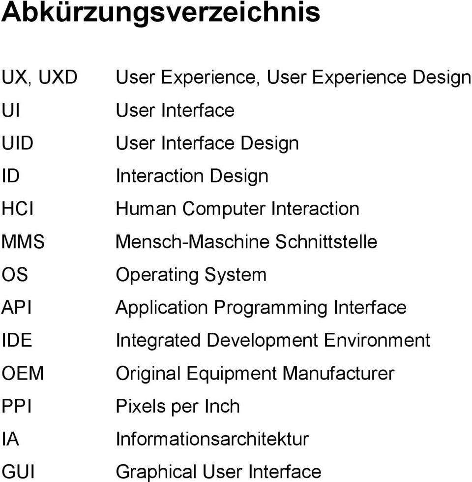 Mensch-Maschine Schnittstelle Operating System Application Programming Interface Integrated