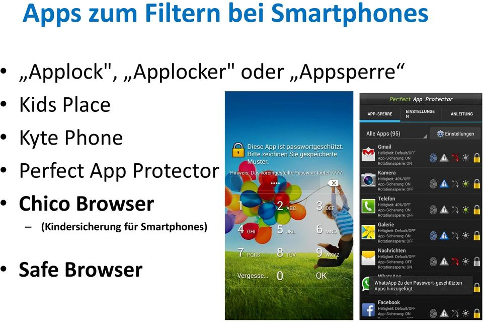 Phone Perfect App Protector Chico Browser