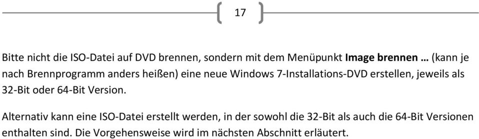 Bit oder 64 Bit Version.