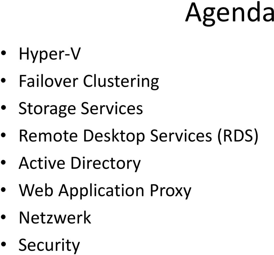 Services (RDS) Active Directory