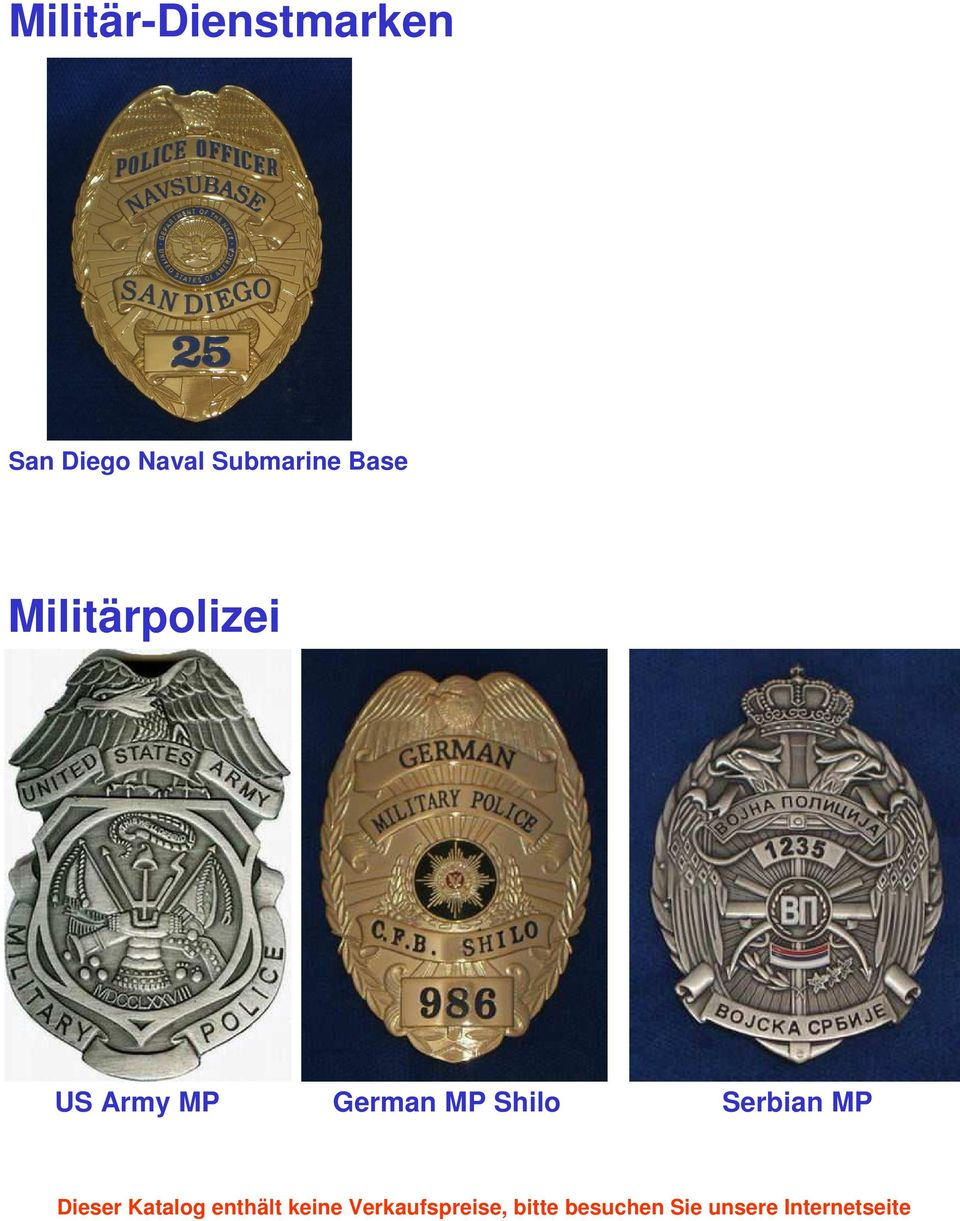 Base Militärpolizei US
