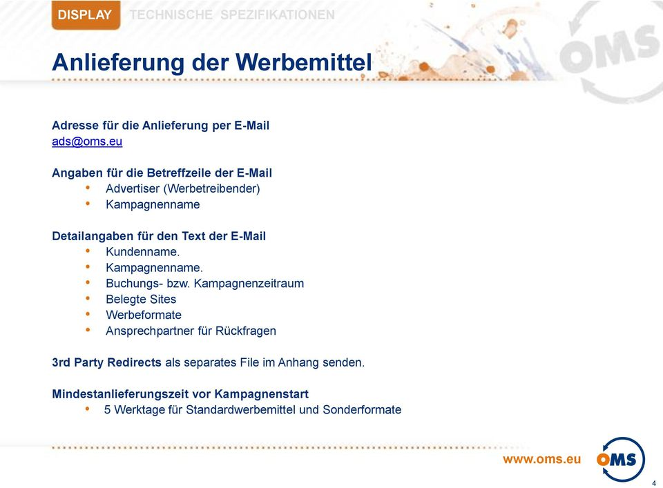 E-Mail Kundenname. Kampagnenname. Buchungs- bzw.