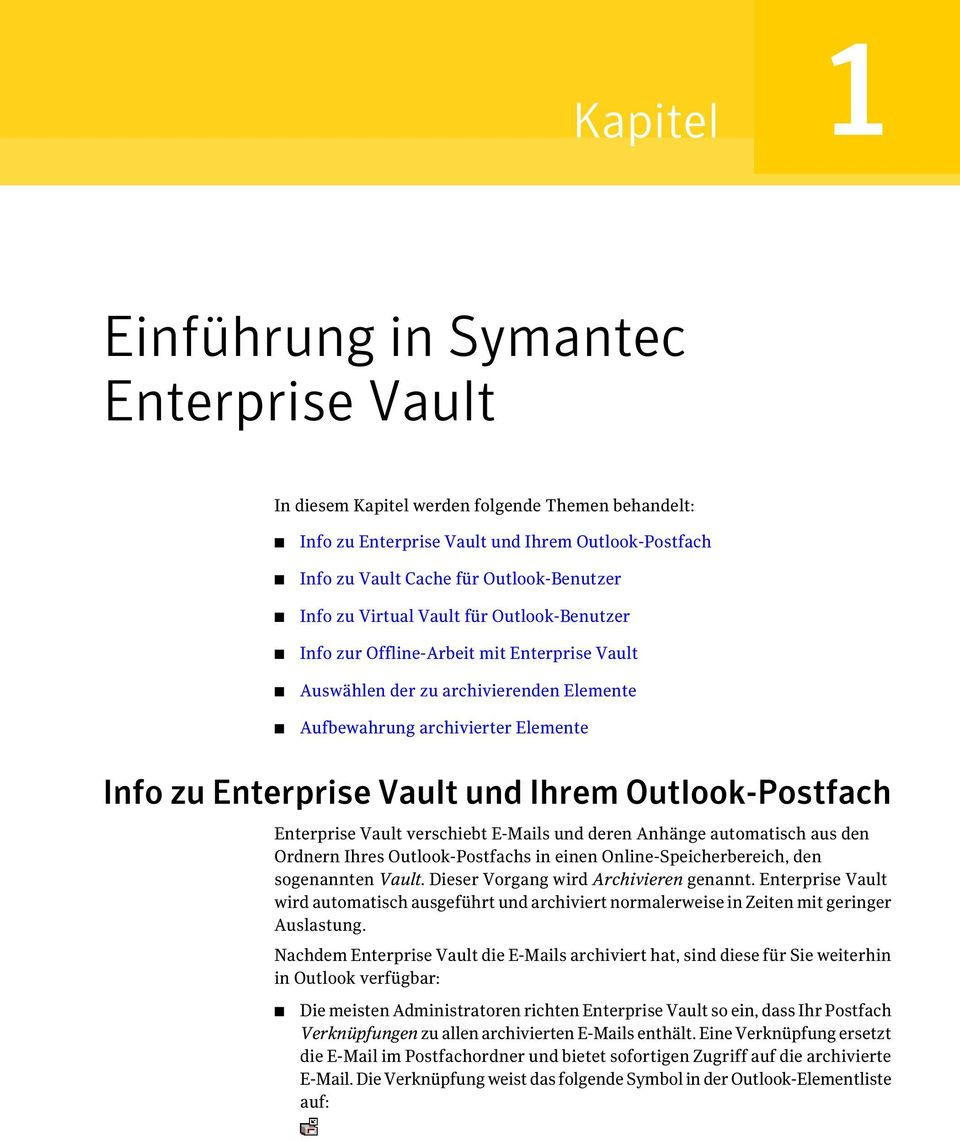 how to get a outlook vault email