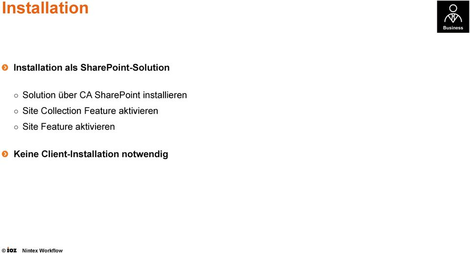 SharePoint installieren Site Collection