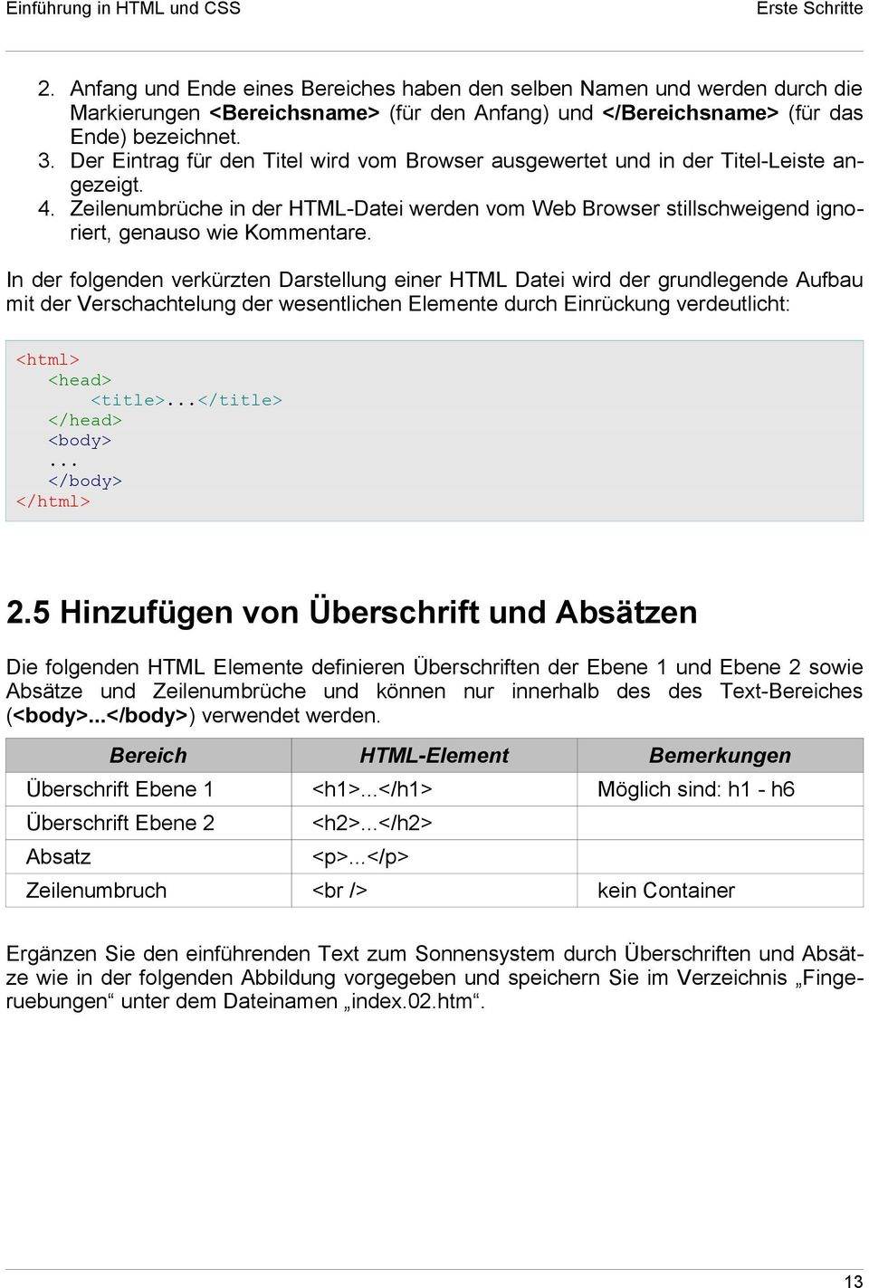 Fantastisch Html Basisvorlage Ideen - Entry Level Resume Vorlagen ...