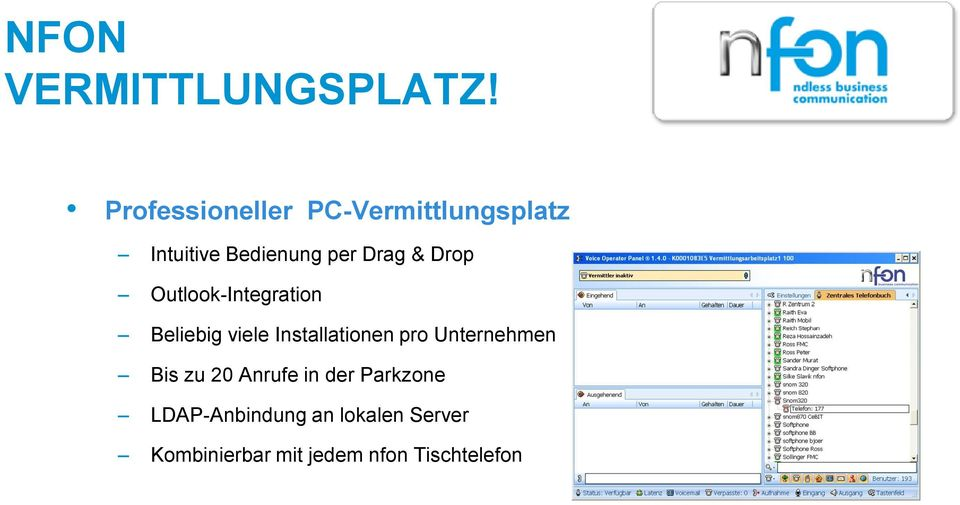 & Drop Outlook-Integration Beliebig viele Installationen pro