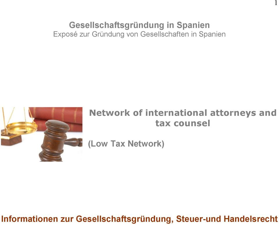 attorneys and tax counsel (Low Tax Network)