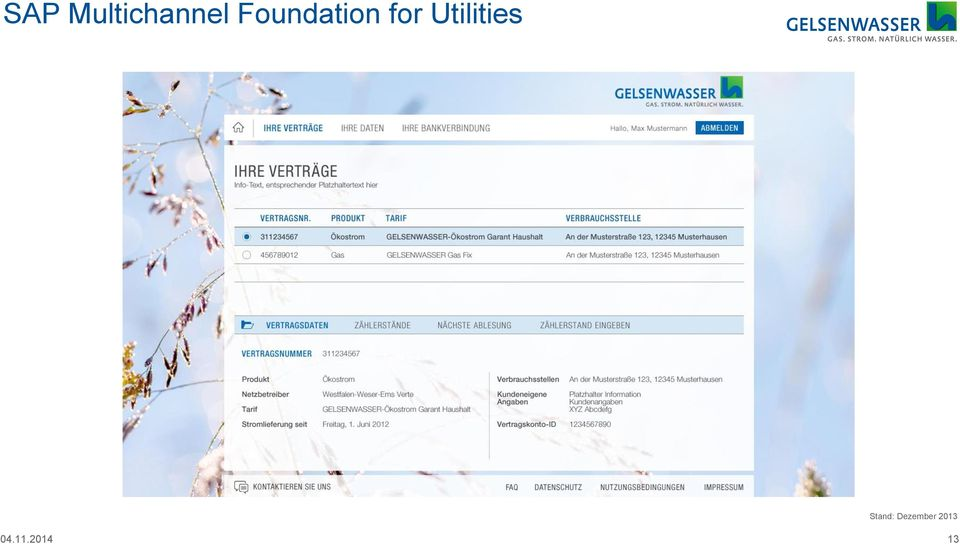 Utilities tand: