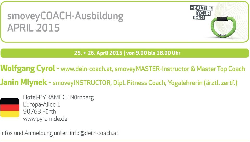 at, smoveymaster-instructor & Master Top Coach Janin Mlynek - smoveyinstructor,