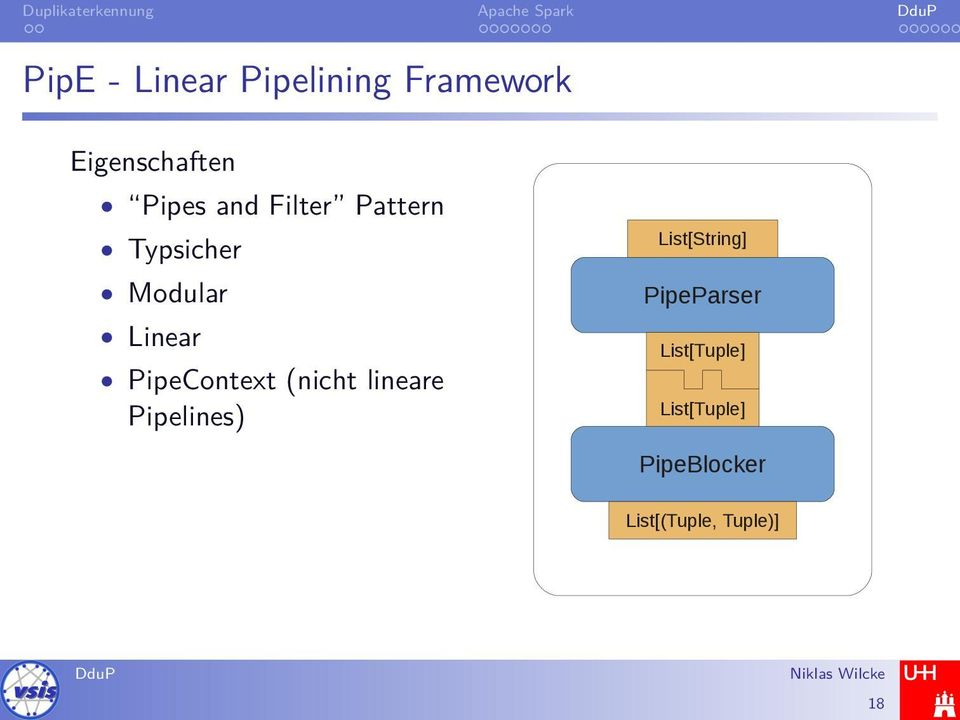 PipeContext (nicht lineare Pipelines) List[String]