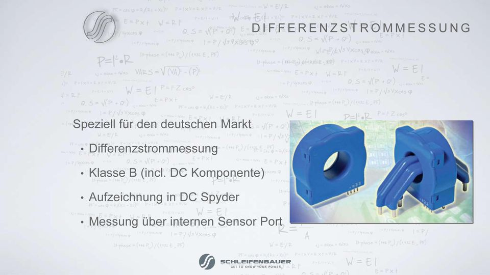 Differenzstrommessung Klasse B (incl.