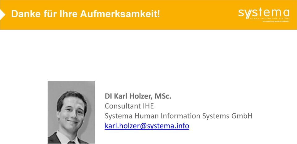 Consultant IHE Systema Human