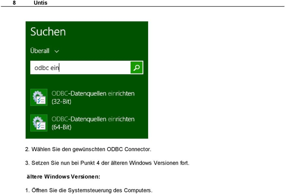 Windows Versionen fort.