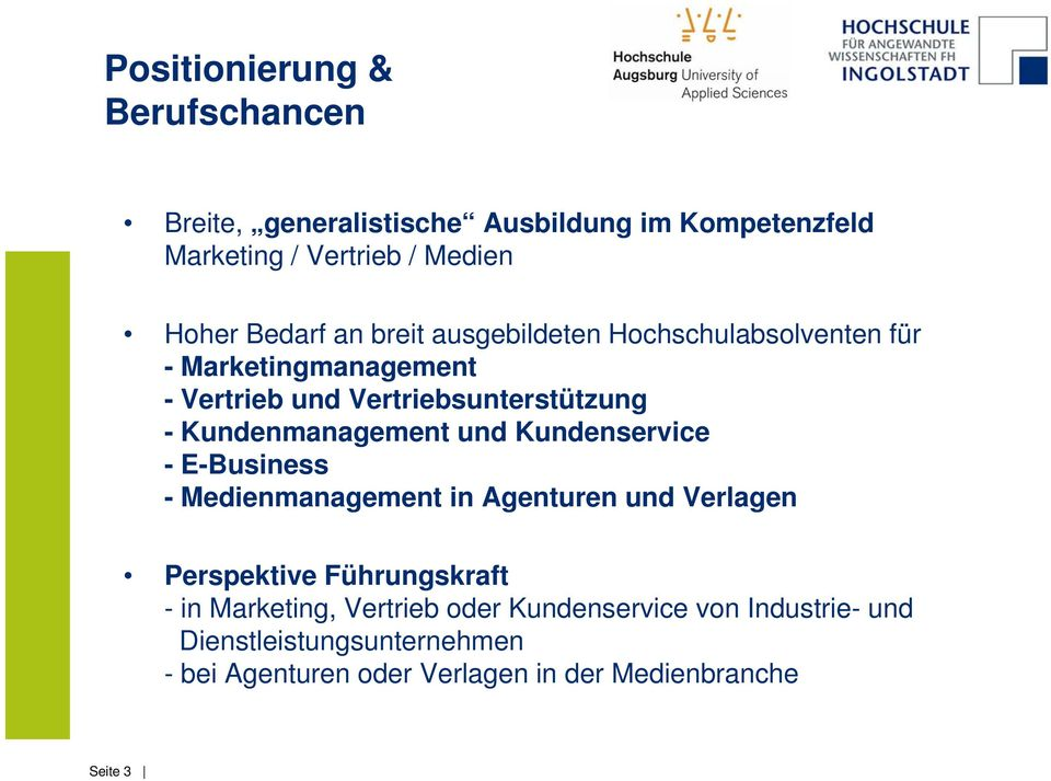 Kundenmanagement und Kundenservice - E-Business - Medienmanagement in Agenturen und Verlagen Perspektive Führungskraft - in