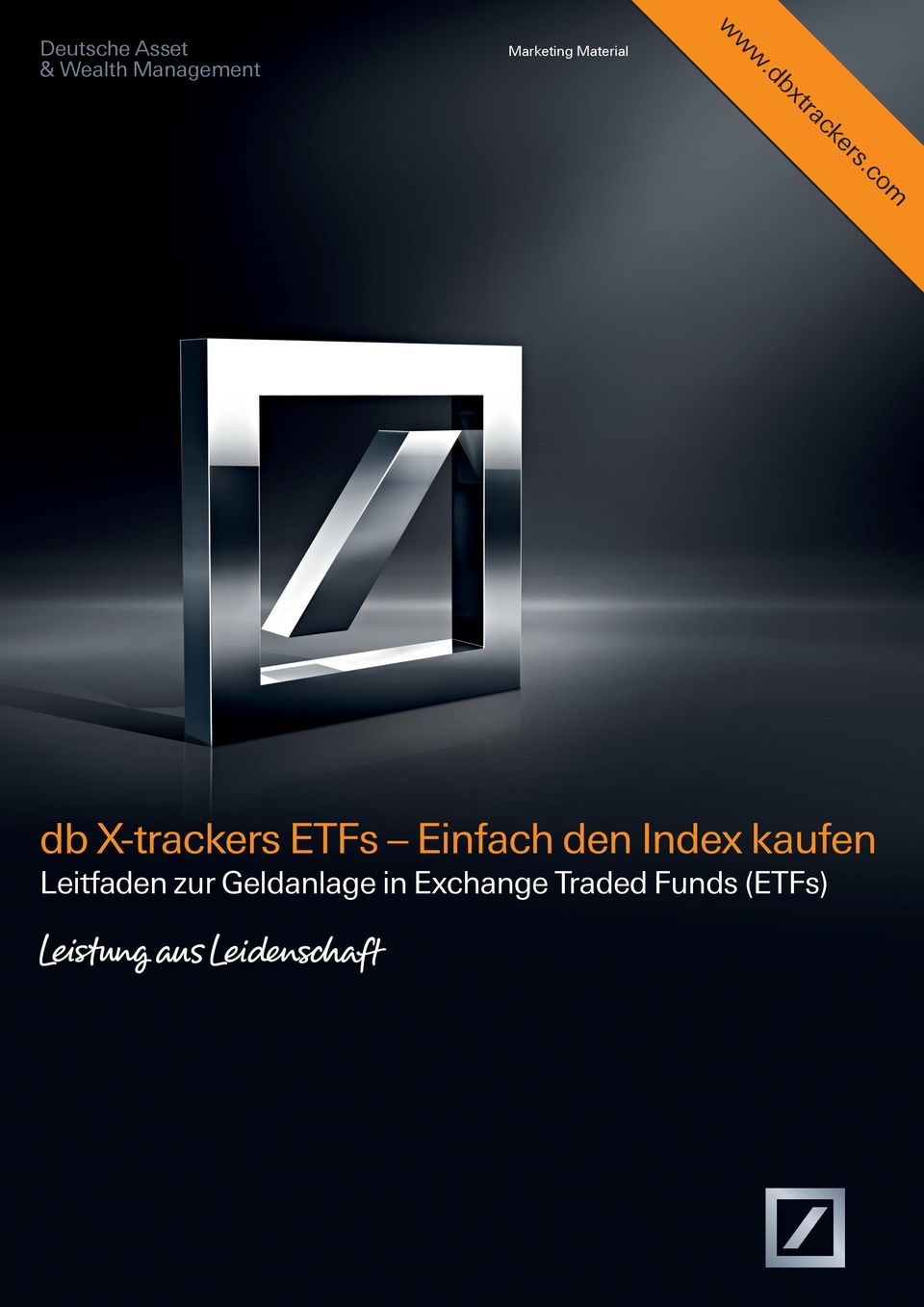 Marketing Material db X-trackers ETFs