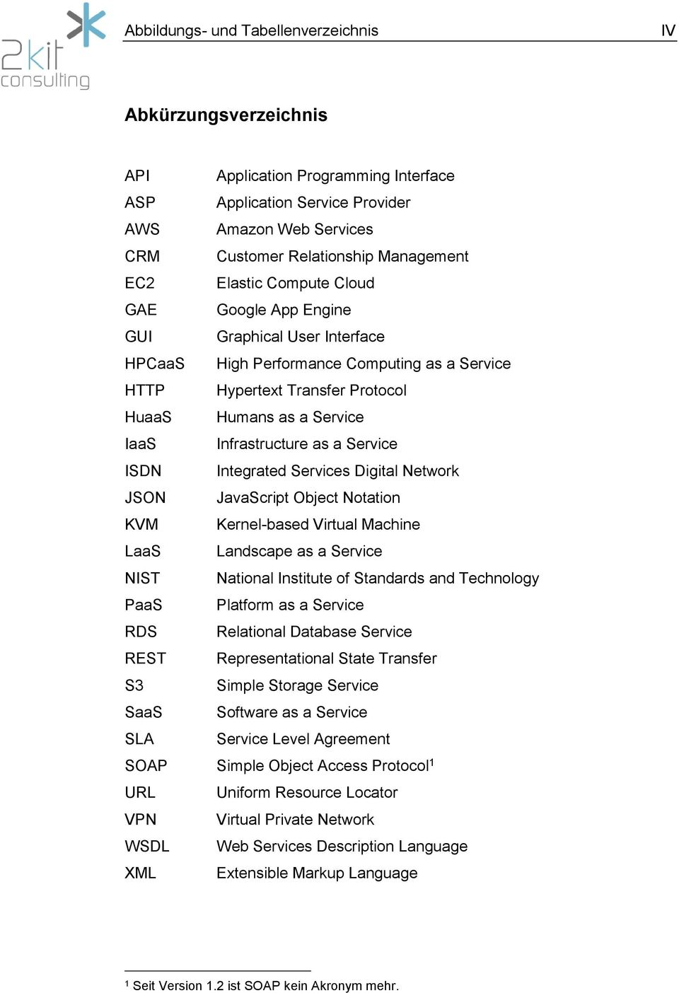 as a Service ISDN Integrated Services Digital Network JSON JavaScript Object Notation KVM Kernel-based Virtual Machine LaaS Landscape as a Service NIST National Institute of Standards and Technology