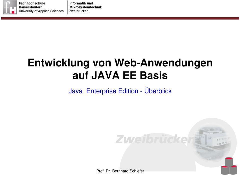 Basis Java Enterprise