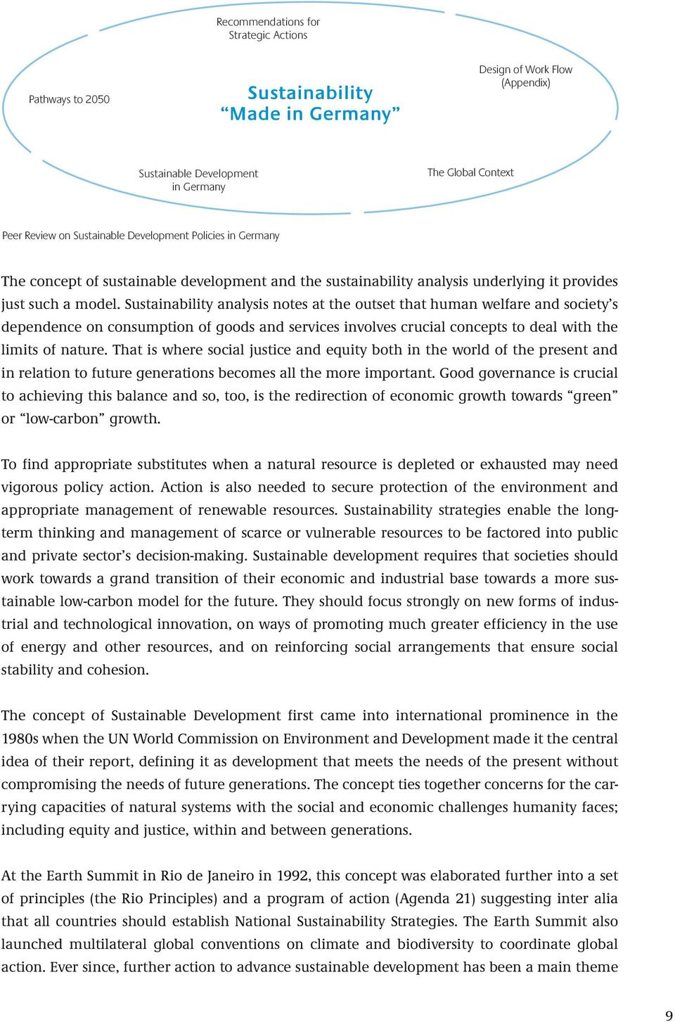 Sustainability analysis notes at the outset that human welfare and society s dependence on consumption of goods and services involves crucial concepts to deal with the limits of nature.