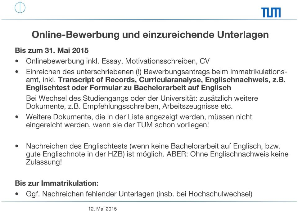 tum informatik master essay Safety systems engineering bachelor arbeit software engineering abschlussarbeit software quality informatik master thesis thesis  mariogleirscher@tumde.