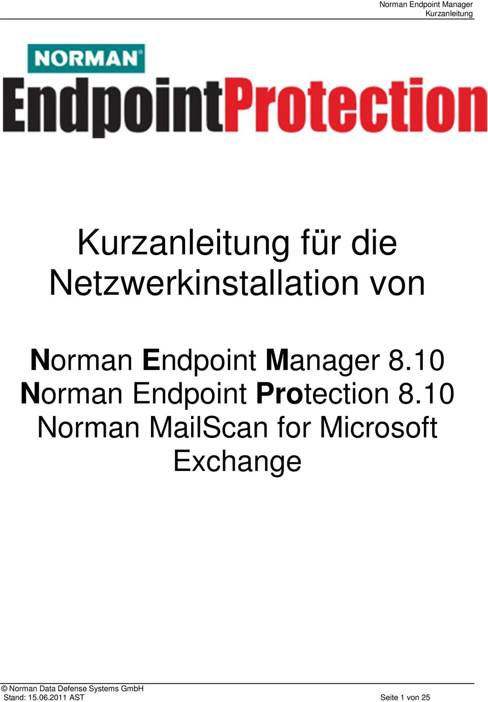 10 Norman MailScan for Microsoft