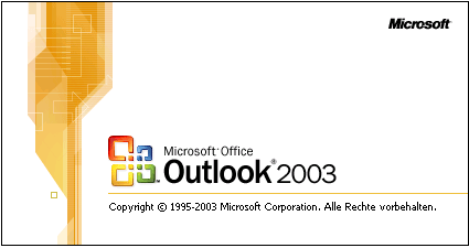 4) Microsoft Outlook 2003 Aktuelle Version: Service Pack 3 Hersteller: Microsoft Corporation Produktinformation: http://web.