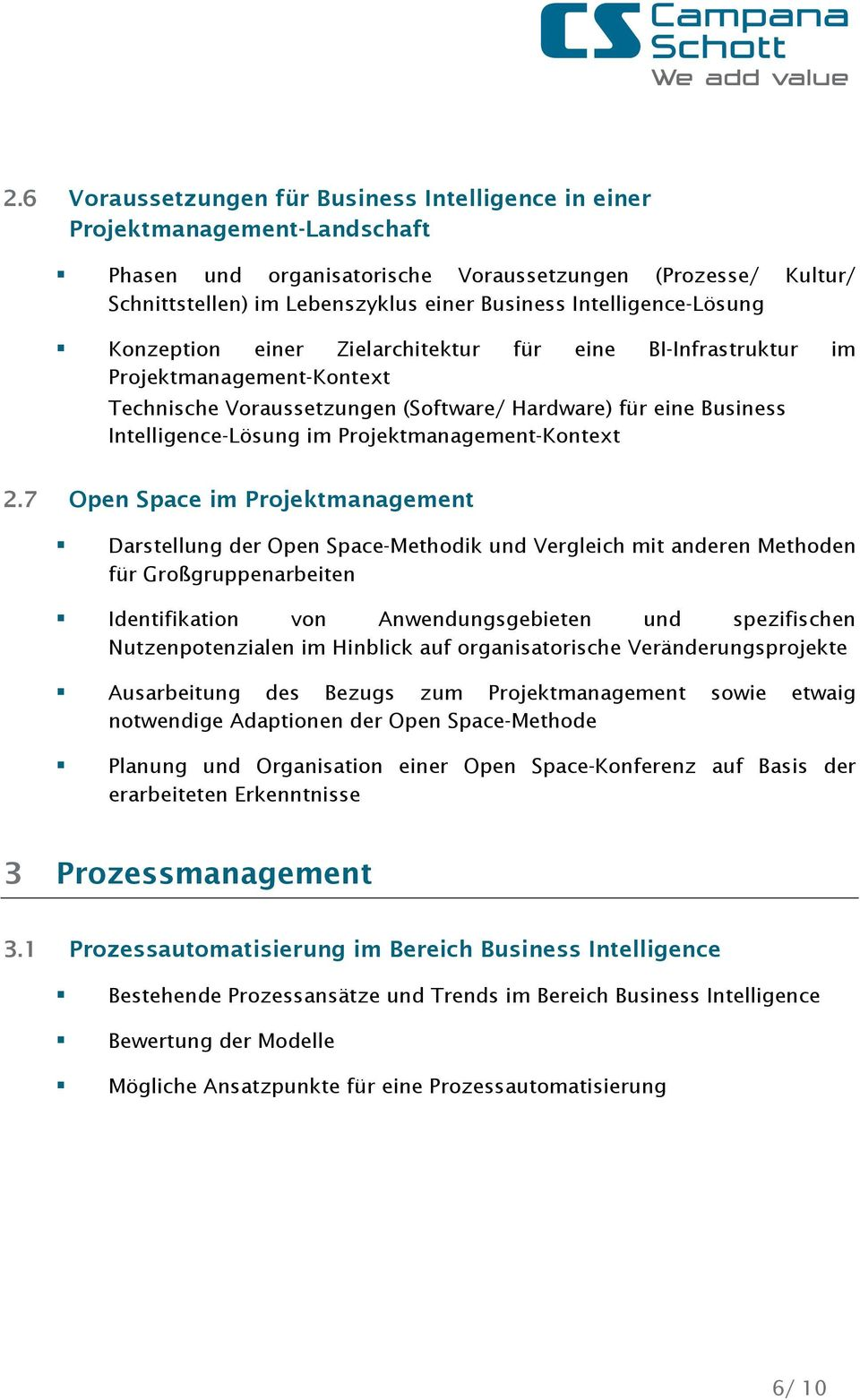 Projektmanagement-Kontext 2.
