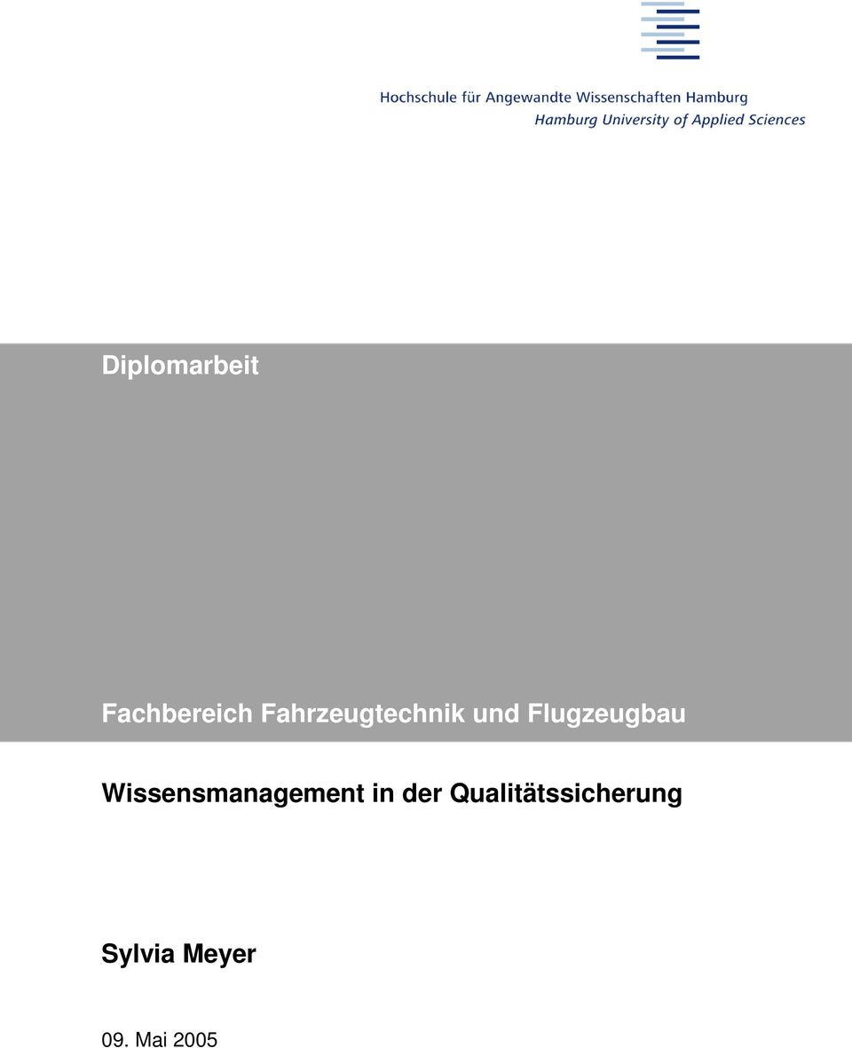 Wissensmanagement in der