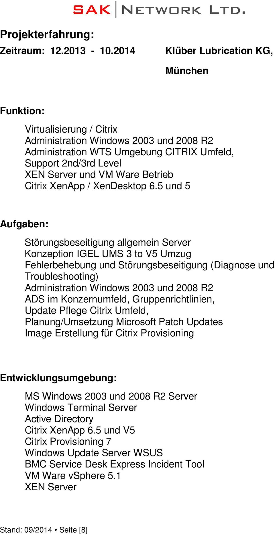 Citrix XenApp / XenDesktop 6.