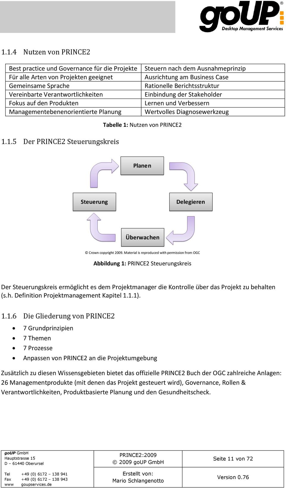 prince2 foundation study material pdf