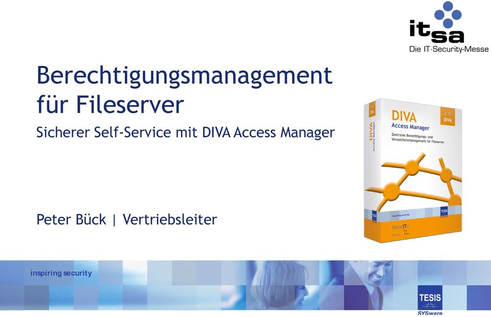 mit DIVA Access Manager Peter