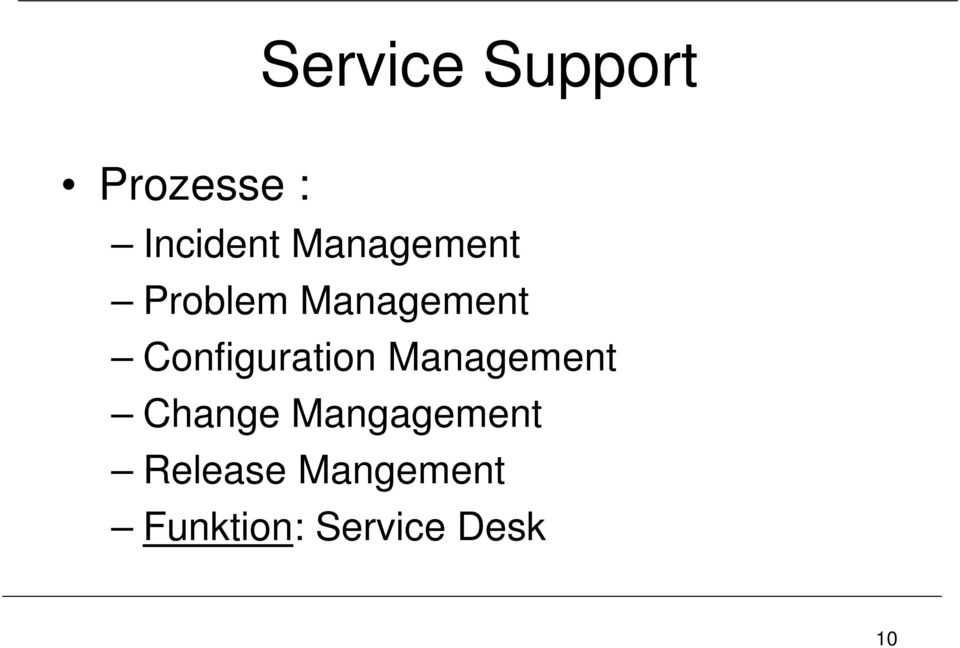 Configuration Management Change