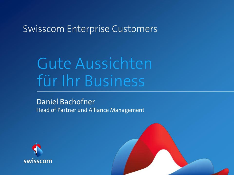 Business Daniel Bachofner