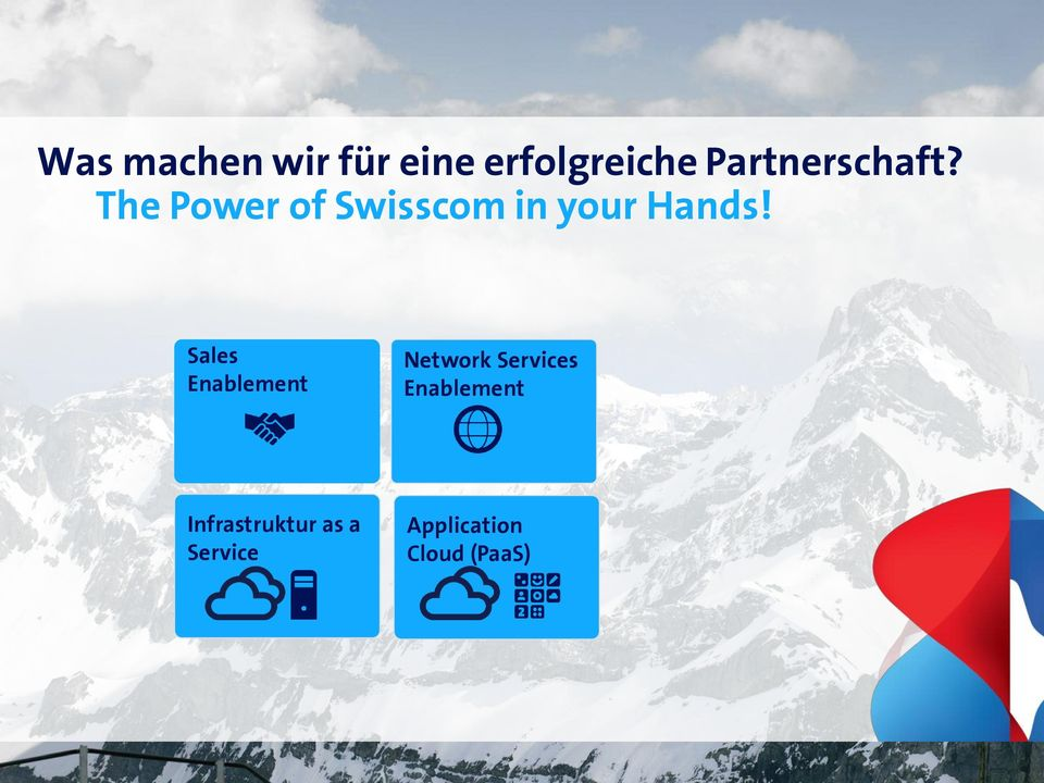 The Power of Swisscom in your Hands!