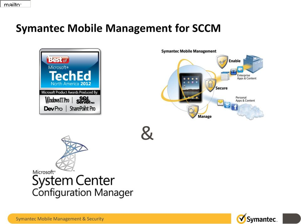 Management for SCCM &