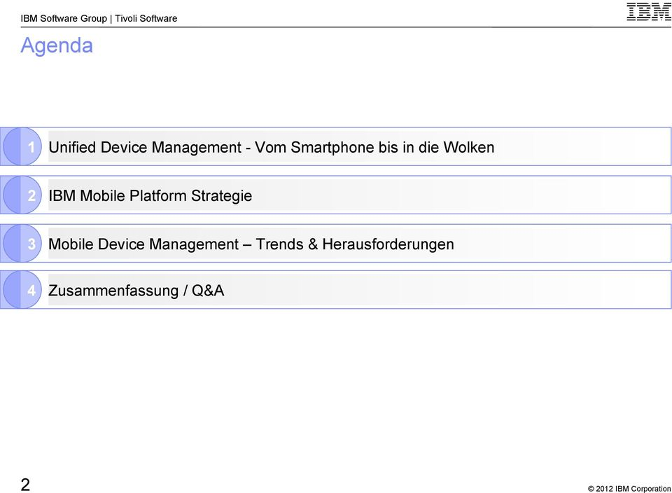Platform Strategie 3 Mobile Device Management