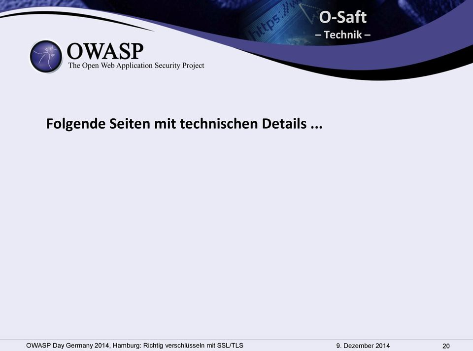 .. OWASP Day Germany 2014